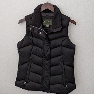 Eddie Bauer Black Puffy Vest